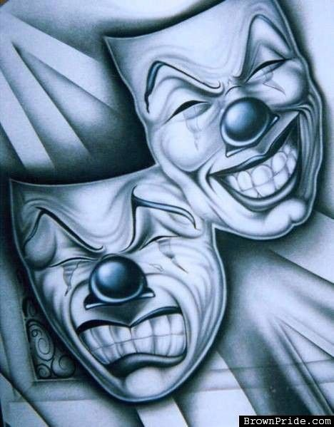 SMILE NOW CRY LATER - CHOLO ART