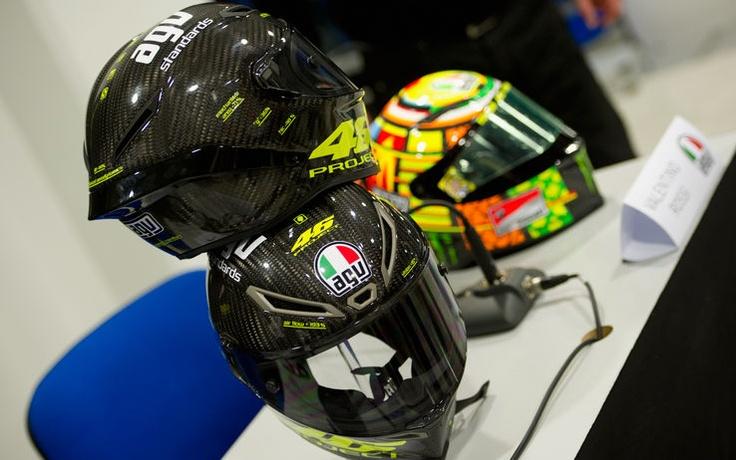Valentino Rossi's helmet for the 20122013 MotoGP season