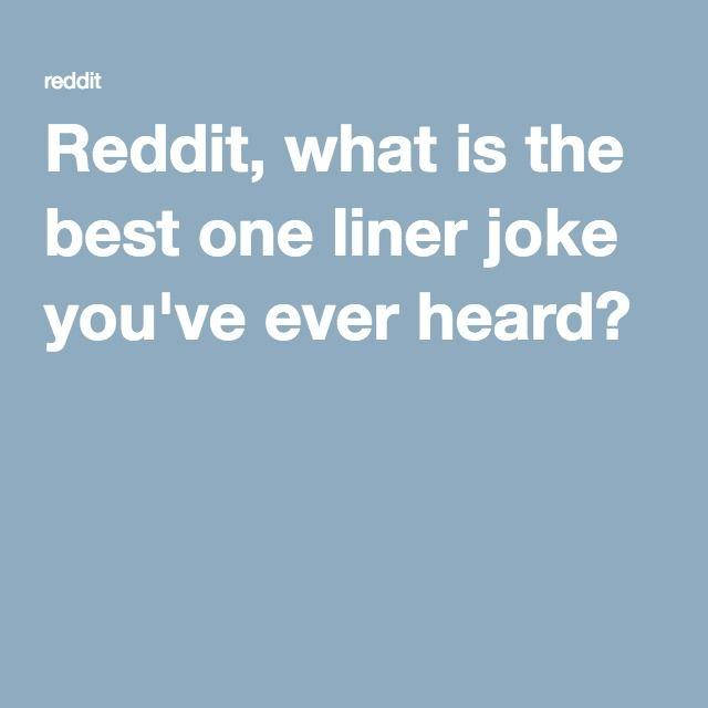 Dating joke reddit