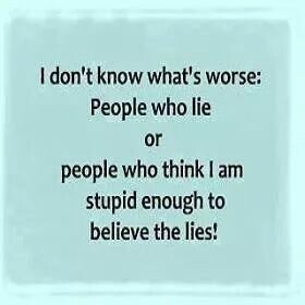 i hate people who lie quotes - photo #11