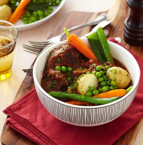 French style lamb stew