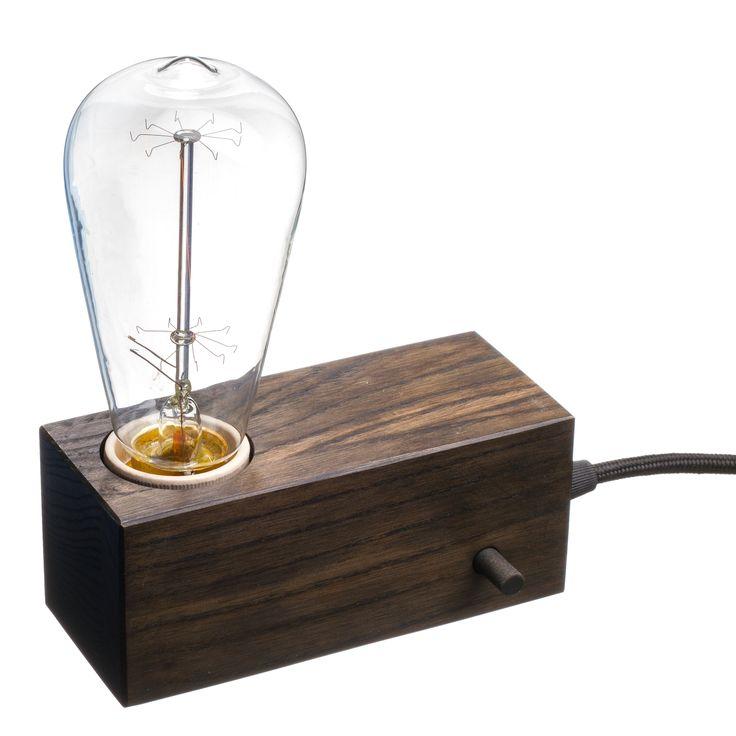 Доступные цвета кабеля: Черный, Белый, Красный Тип патрона (цоколя): Е27 Материал патрона: Керамика Тип лампочки: Накаливания (Диммер не поддерживает лампочки типа LED, энергосберегающие) Максимальная мощность лампочки: 40 Вт Тип выключателя: Диммер (регулировка яркости)/тумблер Выключатель: На корпусе * лампочка в комплект не входит #lamp #tablelamp #loft #wood #woodlamp #design #interior #лампа #киев #настольнаялампа #зробленовукраїні #madeinua #лофт
