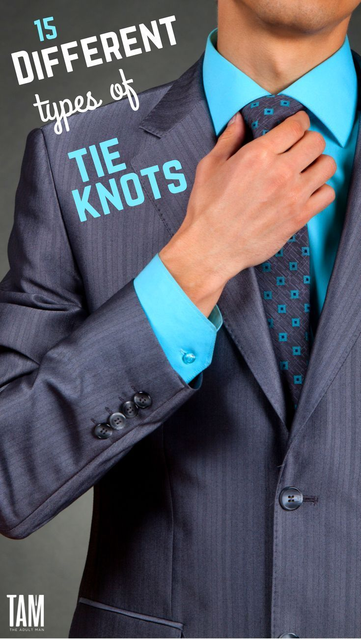 15 Different Types of Tie Knots. Ties visual comparison including unique tie knots and bowties.