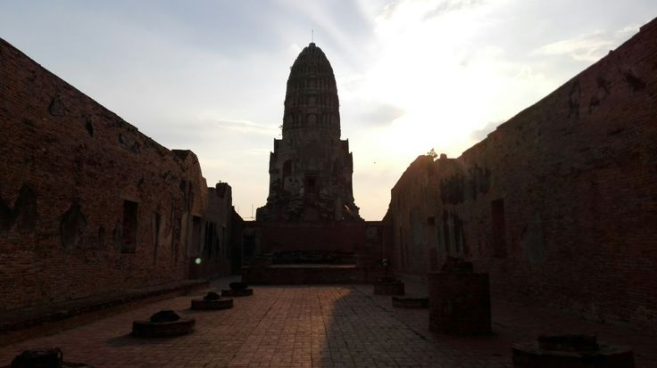 Wat Ratchaburana (วัดราชบูรณะ) de Ayutthaya, Thailand.