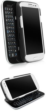 Keyboard Buddy Galaxy S3 Case - The best of both worlds. An ultra slim, slide out, bluetooth, backlit keyboard for the Galaxy S3.