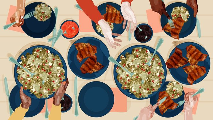 At this summer harvest dinner party, your dog—and your friends' dogs—eat just as well as the human guests.