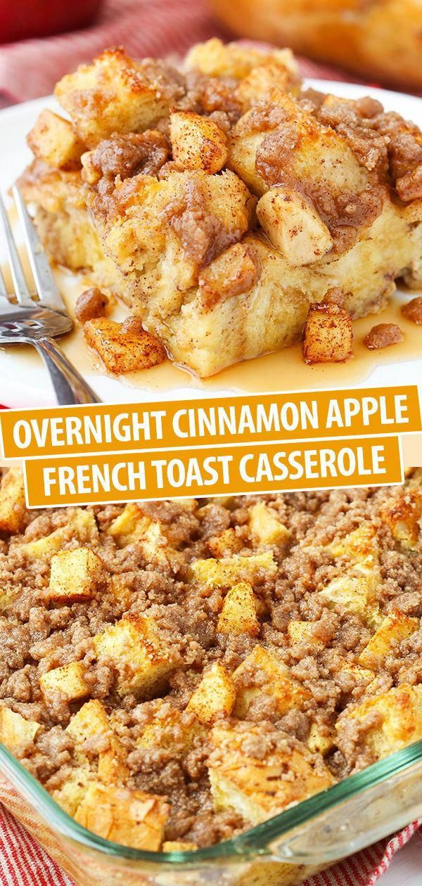 This Apple Baked French Toast Is The Best Breakfast Casserole Recipe Recipe Best Breakfast Casserole Sweet Breakfast Casserole Breakfast Recipes Casserole