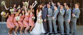 Los conceptos de los padrinos de boda