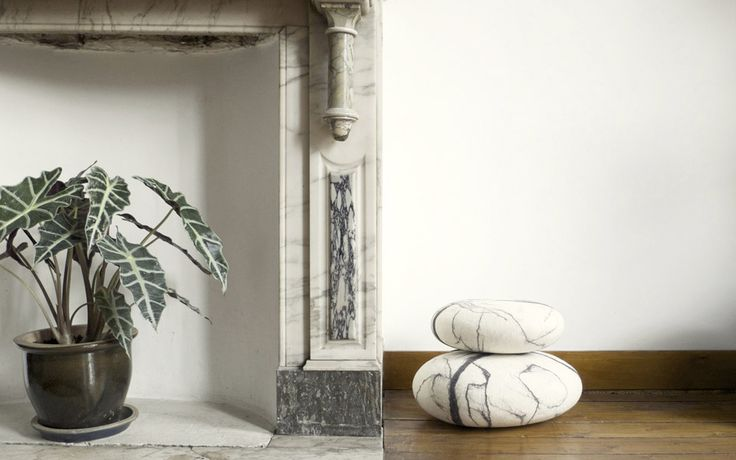 fivetimesone — stONE collection marble pillows www.fivetimesone.com