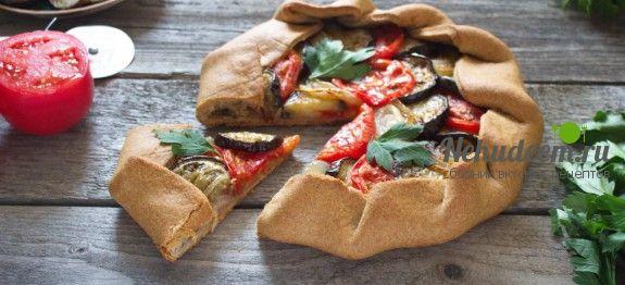 Галета с баклажанами и запеченными овощами | Не худеем! Пошаговые рецепты. Рецепты с фото. Популярные рецепты Instagram. Авторские рецепты.