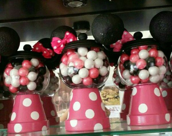 maquina de chicles minnie mouse