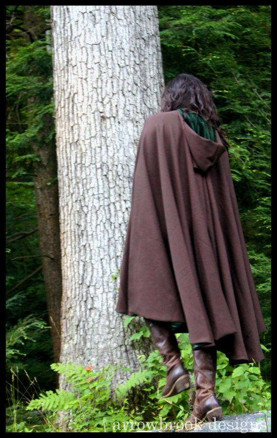 how to make a hooded ranger cloak