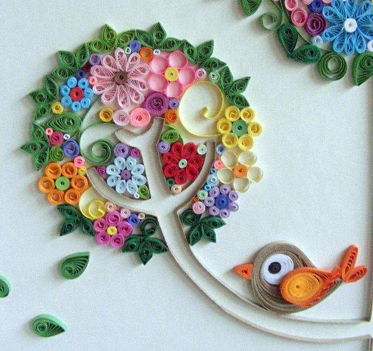 cheerful paper quilling