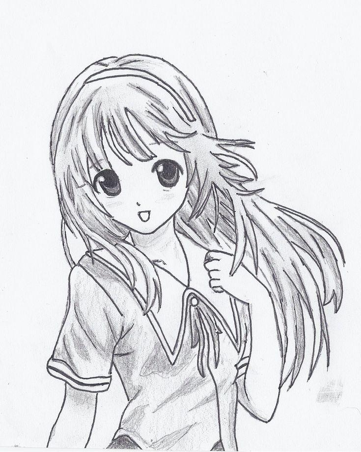 how to draw nice hair