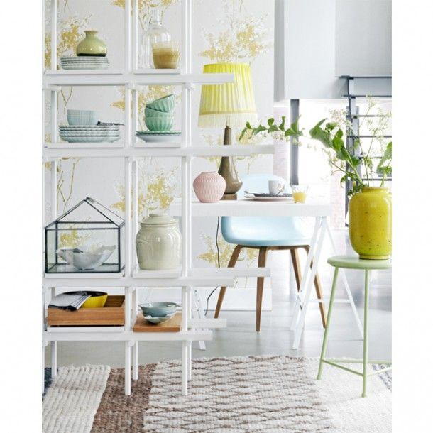 Interieur ideeën voor de inrichting van mijn woonkamer | Wit met mooie pastel tinten Door rvg2011