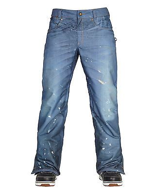 686 snowboard #pants - parklan #deconstructed denim - #indigo, ski trousers - 201,  View more on the LINK: http://www.zeppy.io/product/gb/2/272404425912/