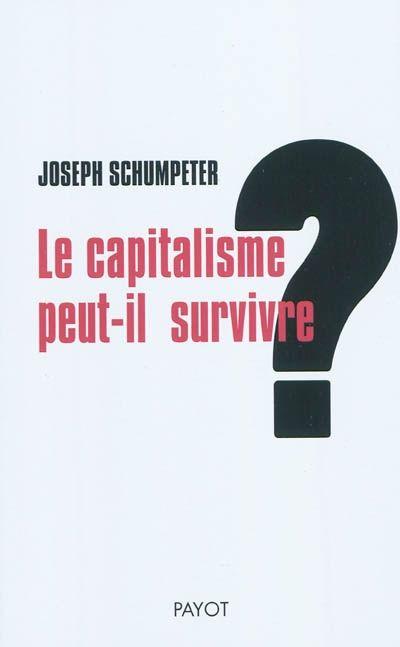 """""""[Cet ouvrage] offre une introduction à la théorie de la destruction créatrice élaborée par Schumpeter, selon laquelle les innovations dans les économies capitalistes fragilisent la position des entreprises bien établies en même temps qu'elles ouvrent des voies inédites de croissance économique. [...] Le présent ouvrage est extrait de """"Capitalisme, socialisme et démocratie"""" http://nantilus.univ-nantes.fr/vufind/Record/PPN155106732"""