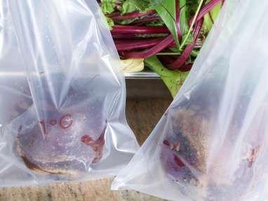 Betteraves rouges cuites sous-vide - Etape 3