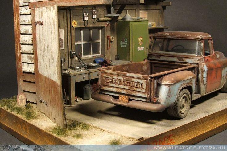 1 24 1 25 Barn Garage Diorama For Sale On Ebay: 1 24 Scale Dioramas