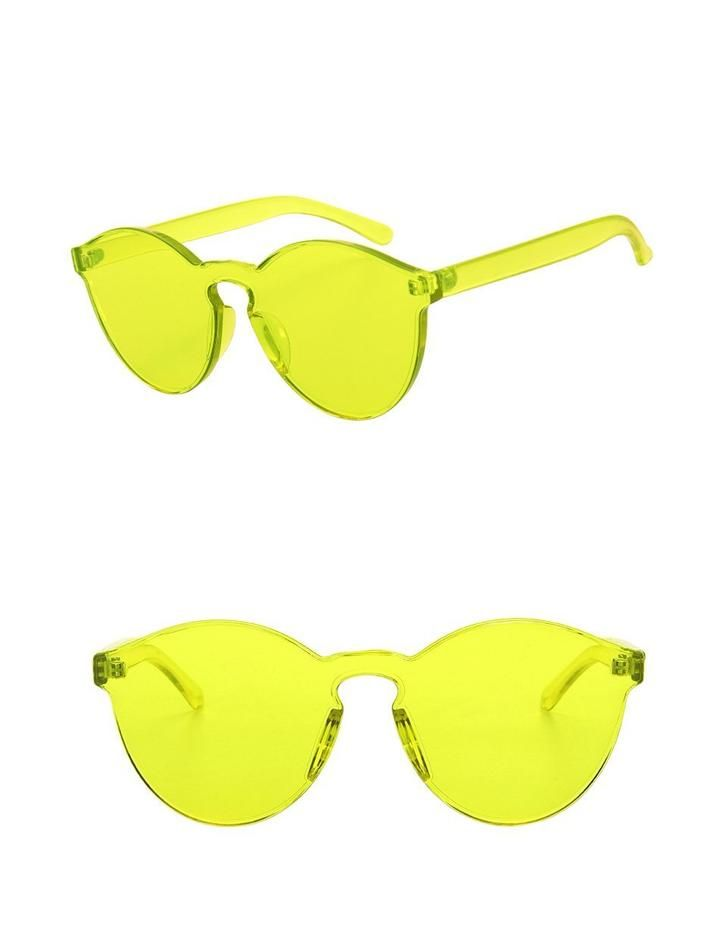 With Sunglasses Yellow And Side No FrameFront View Clear Retro 8PwOkn0