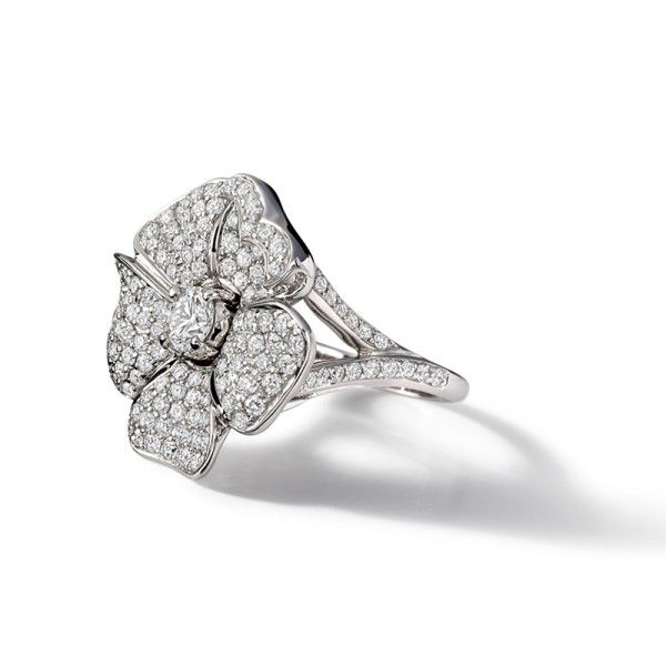 Rose Diamond Ring by Cassandra Goad★༺❤༻★
