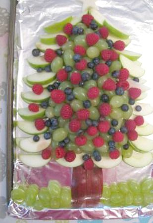 Fruit Platter  - Christmas tree (lots of ideas)