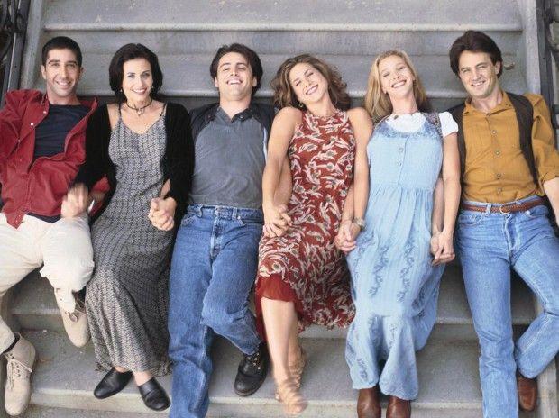 Friends fête ses 20 ans : découvrez des images inédites de la saison 1 - Elle