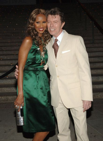 Iman & David Absolutely Beautiful!  Iman is so Gorgeous!
