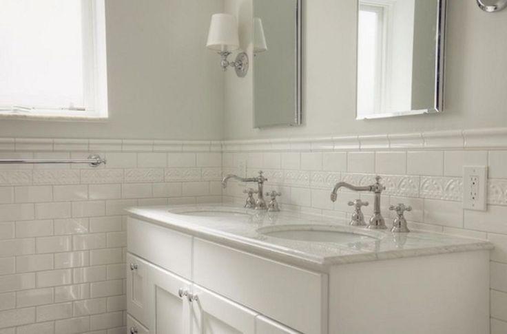 White Subway Tile Bathroom 015 (White Subway Tile Bathroom 015) design ideas and photos