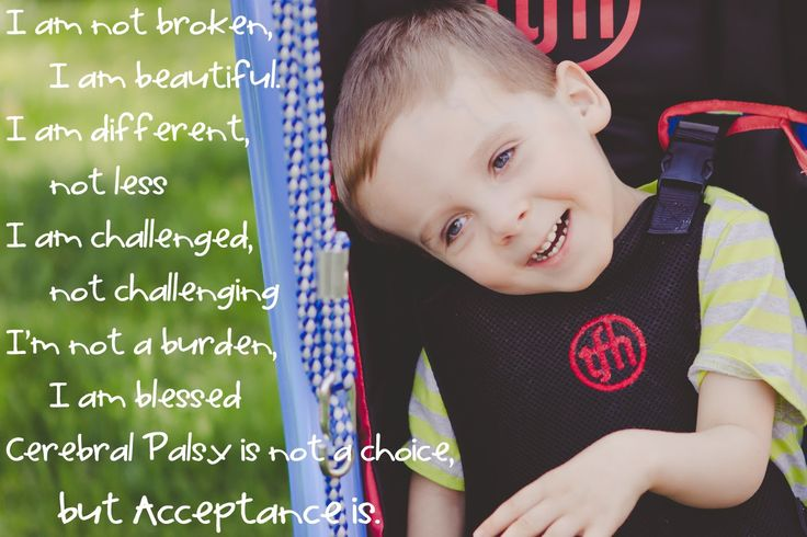 Cerbral Palsy is not a choice, but acceptance is-Noah's Miracle: World Cerebral Palsy Day