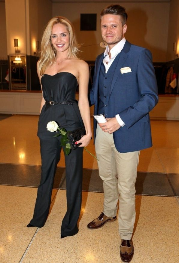 one of the best dressed couples!!!! Tatana Kucharova & Ondrej Brzobohaty
