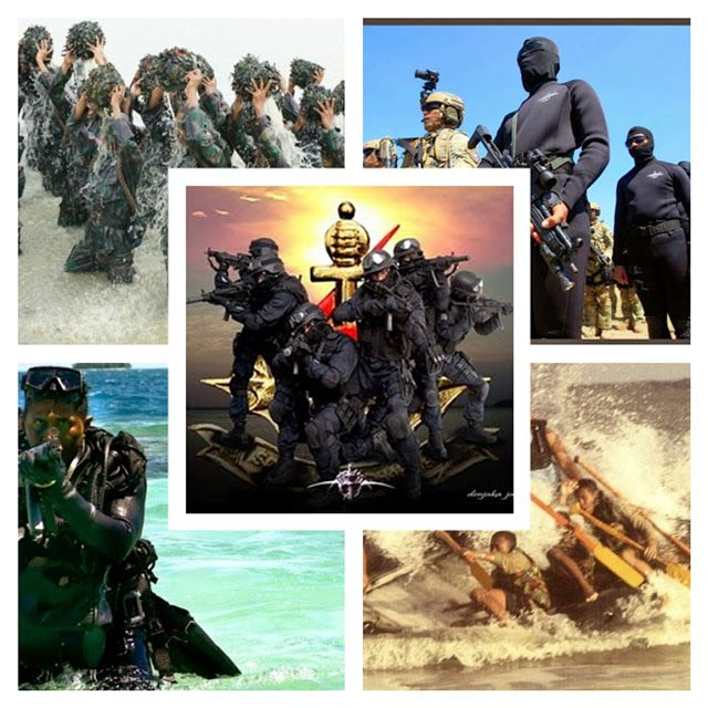 KOPASKA (KOMANDO PASUKAN KATAK) TNI AL INDONESIA (Foto: Detikmiliter.com)       LOGO KOPASKA   Be...