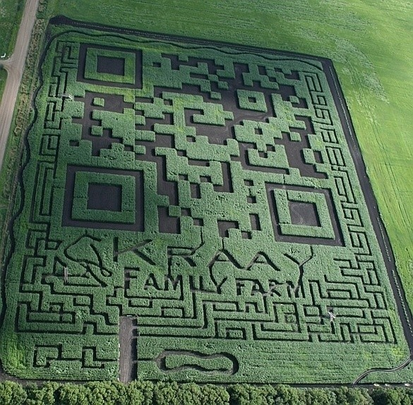 Canadian farm builds world's largest QR code | EDN