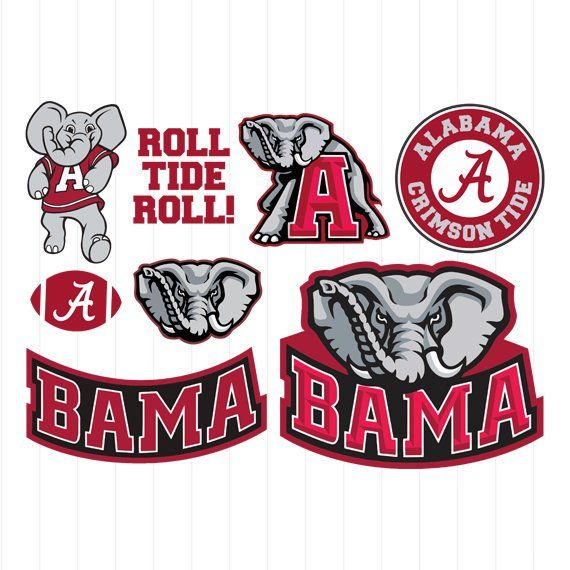 Instant Download Alabama Crimson Tide Svg University Of Alabama