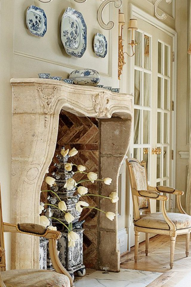 Best 25 country fireplace ideas on pinterest rustic for French country fireplace