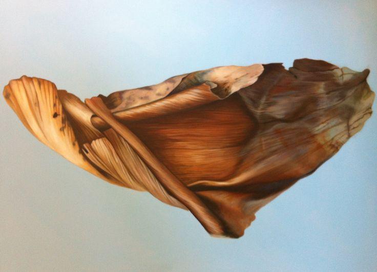Husk. Acrylic on linen. 100cmx120cm. By Tara Green 2013