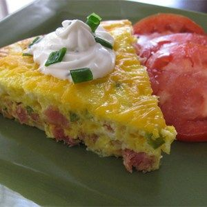 Bake up a light and fluffy omelet with all the fixings. Allrecipes.com