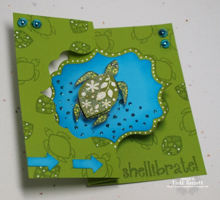 Sizzix: Die Cutting Inspiration and Tips: Want to 'Sea' some Flip-its?