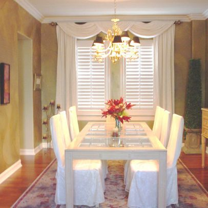 Sophisticated Curtains For Dining Room Windows Gallery House
