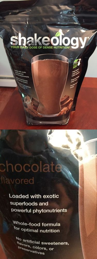 Meal Replacement Drinks: Chocolate Shakeology 30 Serving Bag BUY IT NOW ONLY: $118.0