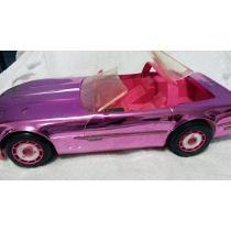 Pink Barbie Carro Conversível Estrela