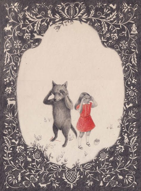 Joanna Concejo - Le petit chaperon rouge. Éditions Notari, 2014.