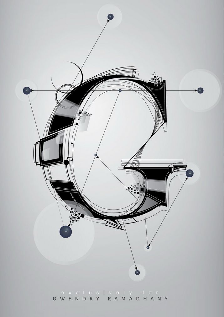 """G"" #calligraphy #typography #letterforms"