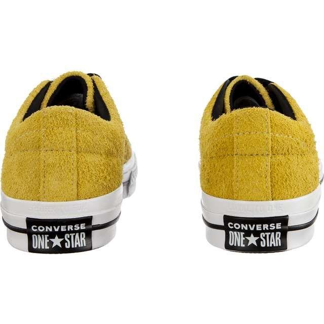 1e12a9d76c7cd #Trampki #Męskie #Converse #Converse #Żółte #One #Star #Dark #Star #C163245  #Bold #Citron #Black #White
