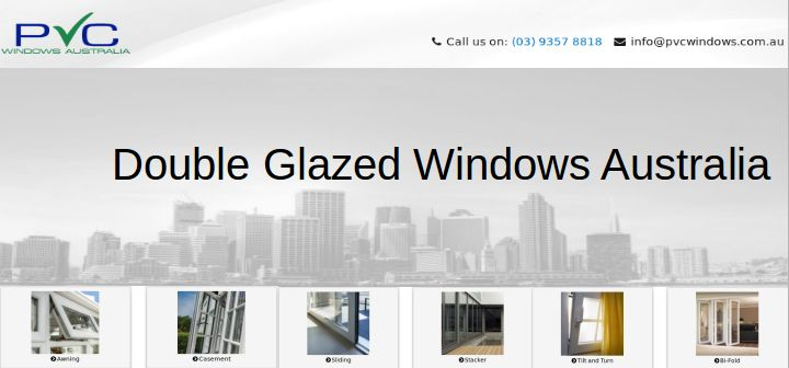 Keep your new/old home warmer, quieter or to reduce condensation with PVC Windows double glazed windows in Australia #DoubleGlazedWindowsAustralia