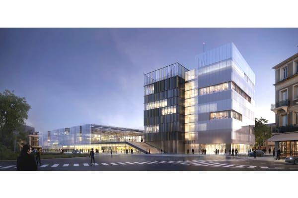 Ameller, Dubois & Associés  · Office building and market hall