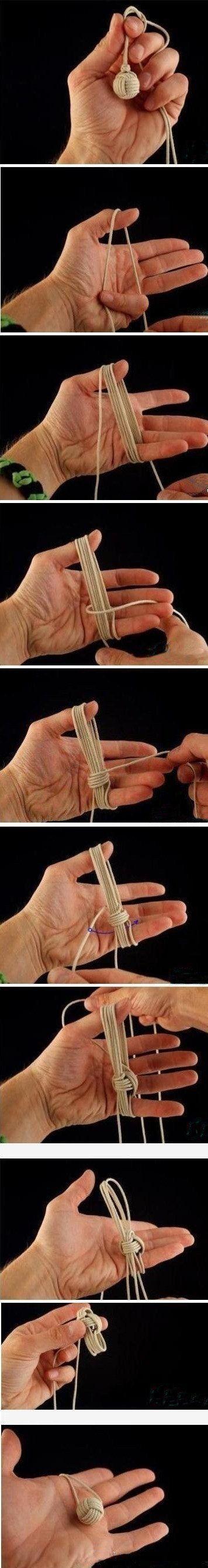knot - kind of looks like a ball of yarn