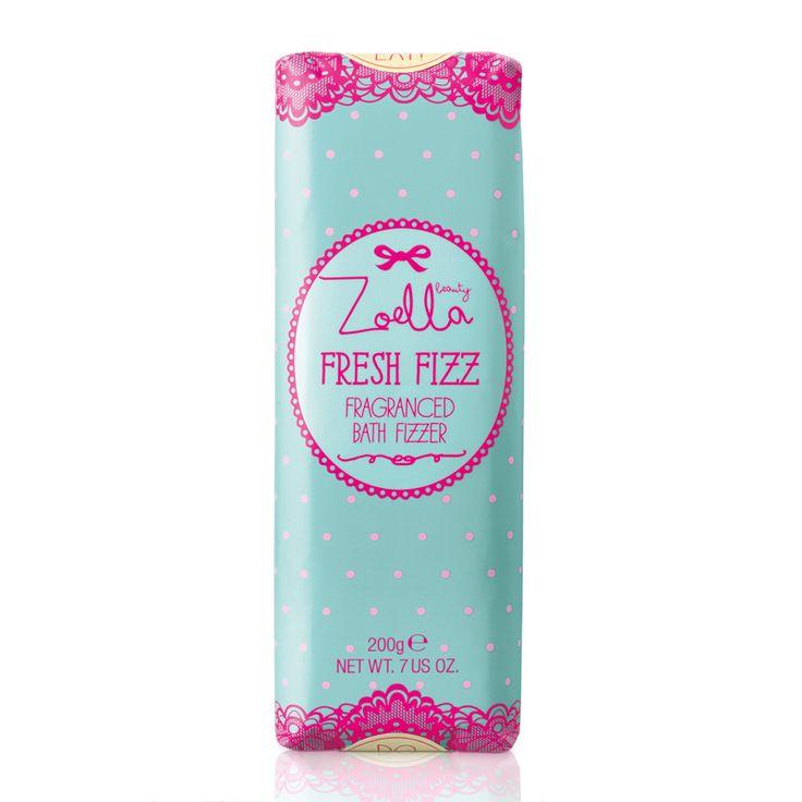 Zoella Beauty Tutti Fruity Fresh Fizz Fragranced Bath Fizzer 280g - feelunique.com
