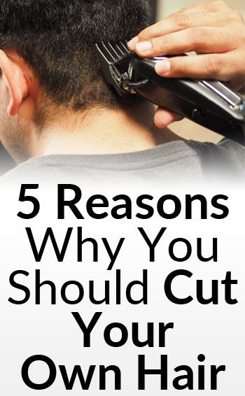 how to point cut your own hair
