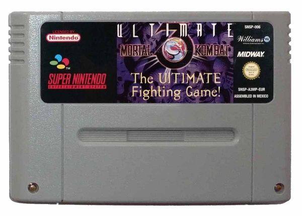 Buy Ultimate Mortal Kombat 3 SNES Australia